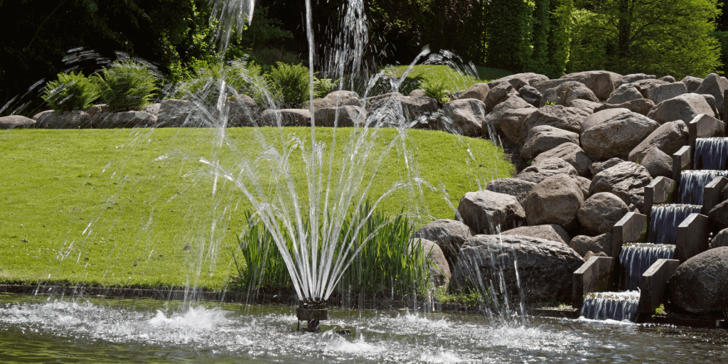 water features in landscaping that can be serviced by Covenant Pool Services